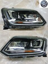 Volkswagen Amarok Headlights Bi - Xenon LED PAIR (Left + Right) GENUINE