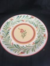 Gail Pittman Siena Southern Living Garland Dinner Plate Excellent Condition