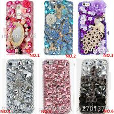 Glitter Luxury Bling Gems Diamonds Soft back phone Case Cover strap For moto