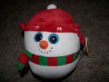 Ty Beanie Ballz collection icebox red hat of winter time