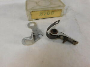 Renault 4CV   Ignition Points for Ducellier 4037A   1949-1956