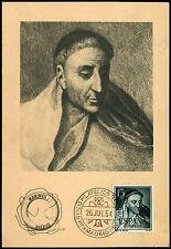 Spain 1954 Tirso De Molina Maxiimum Card #C40117