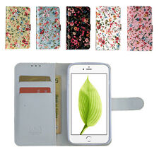 Flower Wallet Cell Phone Case For iPhone 11 Pro Max X XR 5 6 6S 7/8 Plus LN02
