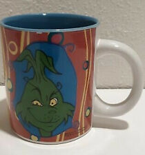 How The Grinch Stole Christmas Mug Merry Grinchmas Dr Seuss Green Cindy Lou Who