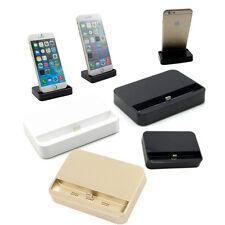 USB escritorio datos estación base cargador Charger Dock para iPhone 6 s plus