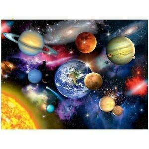 5D Full Drill Diamond Painting Kits Art Embroidery Decors Space Planet DIY Home