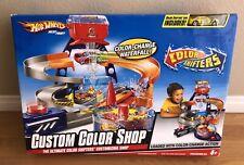 Hot Wheels Custom Color Shop Including Shifters Car Waterfall Waterside New!
