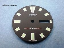 NEW SEIKO BLACK REPLACEMENT DIAL FOR 6309-729X DIVE WATCH