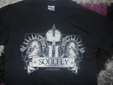 Soulfly oscura Edad Media Raro Usa 2006 Tour de T-shirt Tamaño S 36, Metal, Rock, Maiden