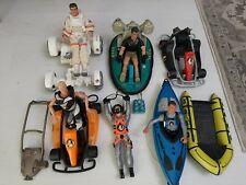 Large Lot of GI Joe figures & Vehicles, Equipment, Hasbro 12