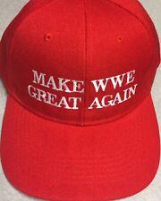 Wrestling MAKE WWE GREAT AGAIN Hat WRESTLING WWE Cap EMBROIDERED Wrestling Hat