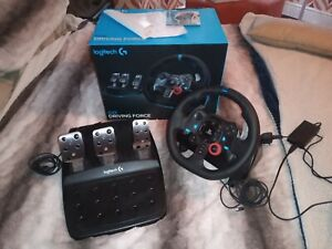 Logitech 222B411 G29 Racing Wheel and Pedals for PS5/PS4/PS3 and PC