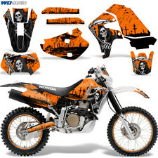 Honda XR650 Graphic Decal Kit Dirt Bike Sticker Wrap XR650R 2000-2010 REAP ORNGE