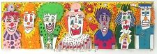 """James Rizzi """"Send in the Clowns"""" 3-D Construction Lithograph"""
