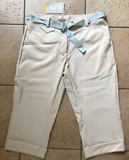 NIKE GOLF Womens Tech Woven Cuffed Crop Pant-Birch-Size 8-NWT