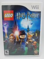 LEGO Harry Potter: Years 1-4 (Nintendo Wii, 2010) Complete CIB Tested