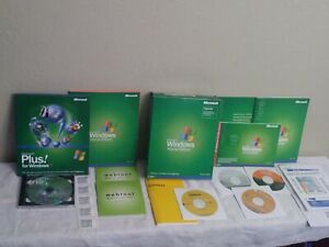 Microsoft Windows XP Home Edition 2002 w/Norton AntiVirus 2006 & More