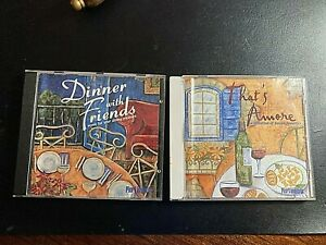 Italian cooking CD's (2) Dinner With Friends + That's Amore