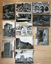Hampshire Towns/Castles, 11 Vintage RP (probable) Postcards, joblot