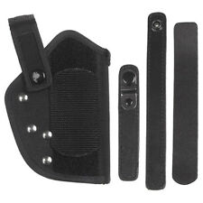 TACTICAL GERMAN WALTHER P38 P1 PISTOL BELT HOLSTER SECURITY CARRIER NYLON BLACK