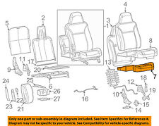 GM OEM Front Seat Bottom-Foam Cushion Pad Insert Left 89041468