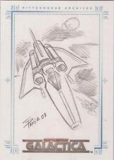 "Complete Battlestar Galactica - Eduardo Pansica ""Viper"" Sketch Card"