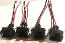 4 EV1 OBD1 injector plug connector pigtails CIVIC Acura Integra ECLIPSE EVO DSM