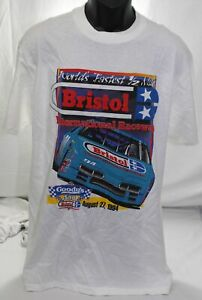 Vintage 1994 Goody's 500 Bristol International Raceway NASCAR Race T Shirt Large