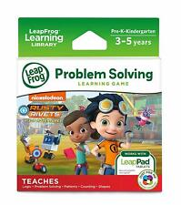 LeapFrog Game Rusty Rivets Fix-it Adventures (LeapPad 3 Ultra Platinum Ultimate)