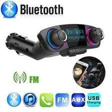 Car Bluetooth Handsfree Kit FM Transmitter Modulator Aux Audio USB MP3 Player
