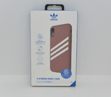 New OEM Adidas Originals 3-Stripes Snap Gazelle Maroon Case For iPhone XR
