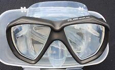 """Tauchmaske Taucherbrille 2-Glas """"TOUCH ME"""" grau POLARIS"""