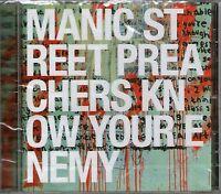 MANIC STREET PREACHERS-Know Your Enemy CD BRAND NEW-Still Sealed