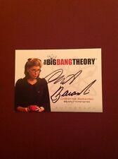 The Big Bang Theory Seasons 1/2 Autograph Card A12