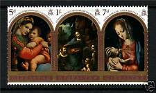 Gibraltar 1969 Christmas Strip SG 244/6  MNH