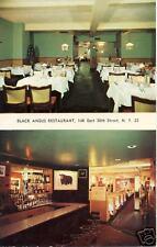 Black Angus Restaurant, East 50th St. New York, NY