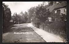 Bromley near Beckenham & Orpington. Chislehurst Road.