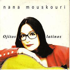 CD SINGLE promo NANA MOUSKOURI ojitos latinos SPAIN rare 1996 SPANISH SUNG