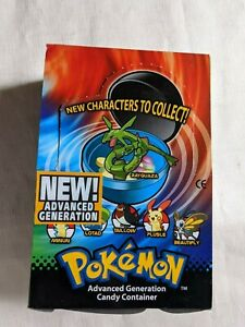 vintage Pokemon advanced generation candy container used pokemon figures topps M