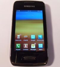 Samsung Wave Y Young GT-S5380 - Black (Unlocked) Smartphone Mobile