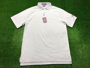 Martin Timeless As The Game Golf Men's Short Sleeve Polo Shirt Medium White