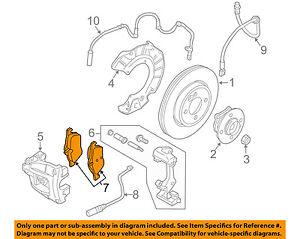MINI OEM 02-06 Cooper Brake-Front Pads 34116770332