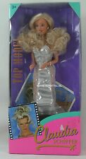 Claudia Schiffer (Barbie - Sindy sized) doll top model made by Hasbro 1995 Nrfb