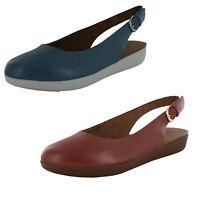 Fitflop Womens Sarita Metallic Sling Back Sandal Shoes
