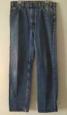 Vintage Men's Levi's 505 Blue Jeans 36x32 (tag) 34x31 (Measured) USA Orange Tag