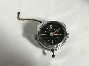 1949 FORD ORIGINAL BORG 6V DASH CLOCK 49