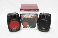 SONO PORTABLE ENCEINTE  AUTONOME USB BLUETOOTH SD REC TUNER FM MICRO VHF