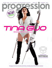 PROGRESSION MAG #72 (Summer 2017) Tina Guo, Yes, Keith Emerson, Ayreon, Styx ...