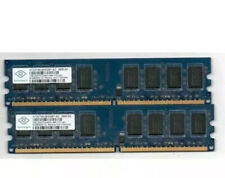 ⚡️Brand 4GB ⚡️2GBx2 DDR2 2RX8 PC2-5300U 667MHz 240PIN RAM Desktop 💥Tested #13
