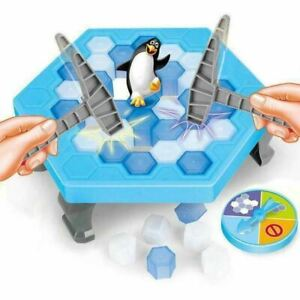 Traditional Classic Family Kids Board Indoor Games 6+ 3+ Penguin Peril For Kids